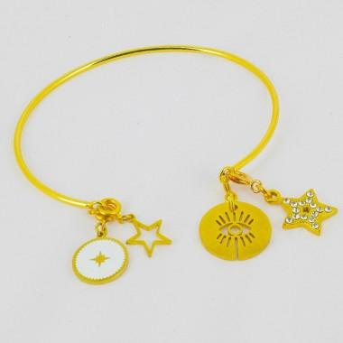 Bracelet à Charms Acier...