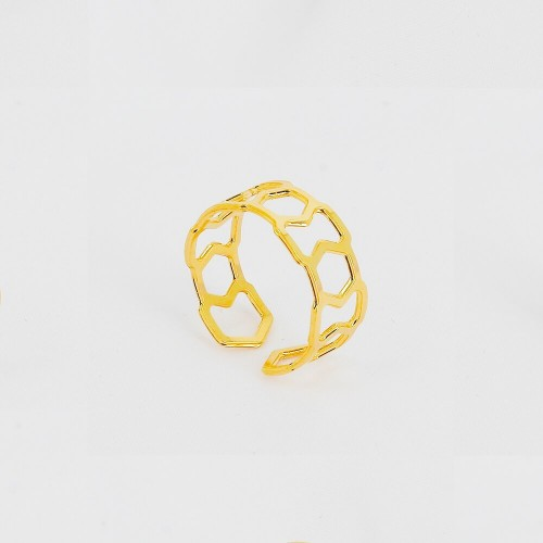 Bague Triangle - 8mm -...