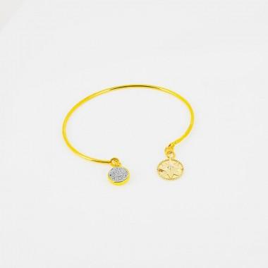 Bracelet ajustable - Rose...