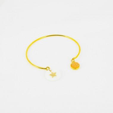 Bracelet ajustable - Nacre...