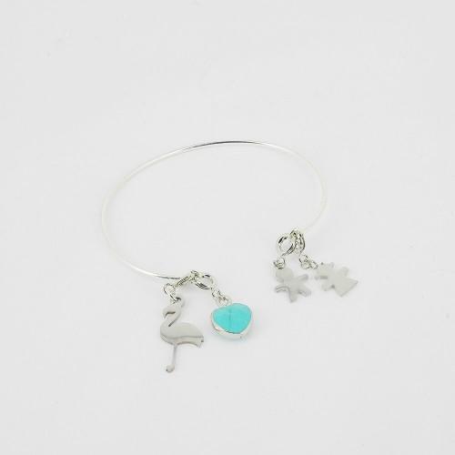 Bracelet ajustable - Flore...