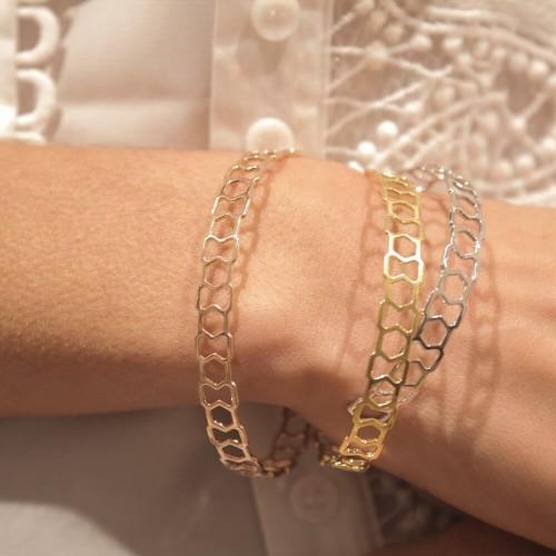 Bracelet Triangle - 10 mm -...
