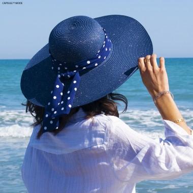 Capeline - Bleue Marine à...