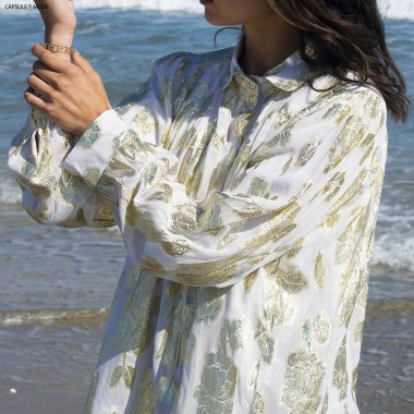 Chemise Ample Blanche -...