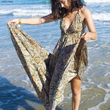 Robe Longue Dos Nu -...